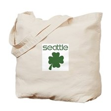 Seattle shamrock Tote Bag