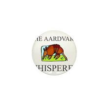 The Aardvark Whisperer Mini Button (10 pack)