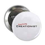 "Practicing Creationist 2.25"" Button (10 pack)"