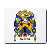 Benzen Coat of Arms Mousepad