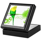 Funny Parrot Keepsake Box