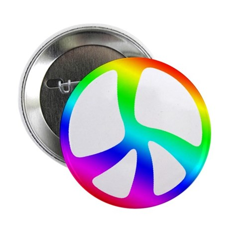 "Peace Symbol 2.25"" Button (10 pack)"
