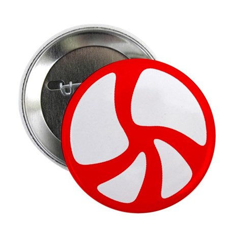 "Peace Symbol 2.25"" Button (100 pack)"