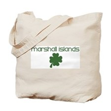 Marshall Islands shamrock Tote Bag