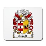 Brandt Coat of Arms Mousepad