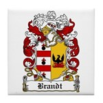 Brandt Coat of Arms Tile Coaster