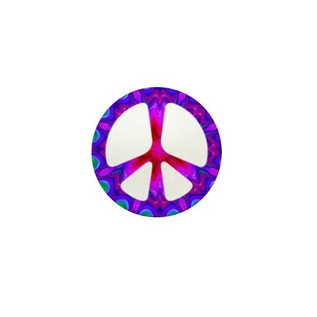 Peace Symbol Mini Button (100 pack)