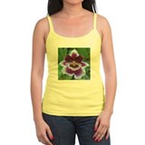 Burgundy Orchid Flower Ladies Top