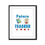 Future Teacher Framed Panel Print