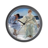 Alma Tadema Ask Me No More Wall Clock