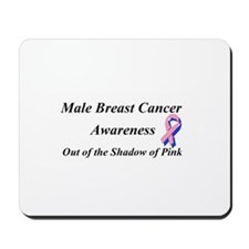 Male Breast Cancer Mousepad