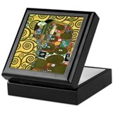 Klimt The Embrace Keepsake Box