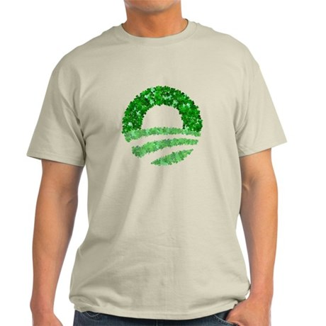 Obama Irish St. Patrick's Day Light T-Shirt