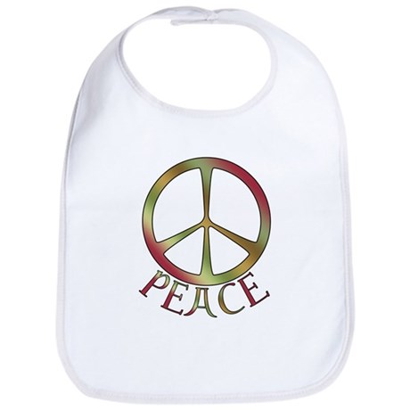 Earth Toned Peace Bib