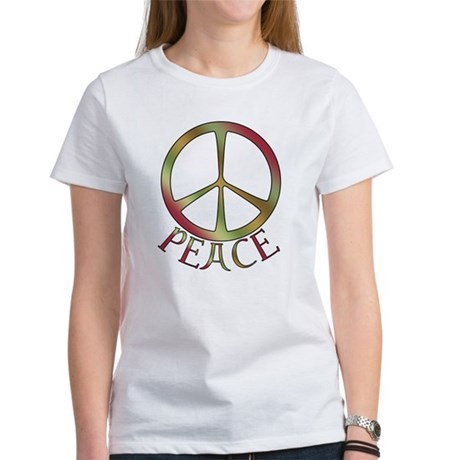 Earth Toned Peace Women's T-Shirt