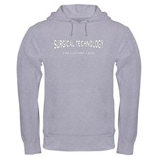 Surgical Technology - gray/wh Hoodie
