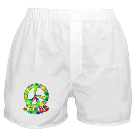 Flower Child Peace Boxer Shorts