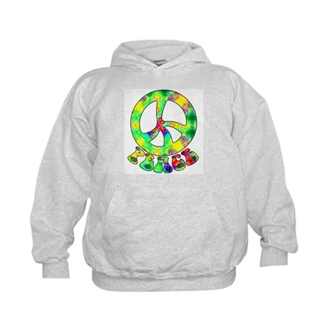 Flower Child Peace Kids Hoodie