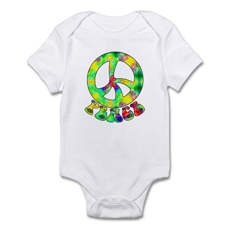 Flower Child Peace Infant Bodysuit