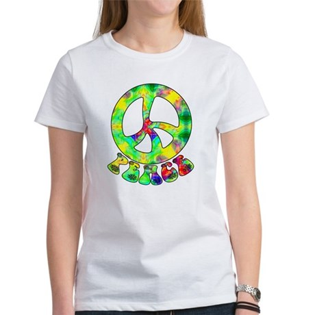 Flower Child Peace Women's T-Shirt
