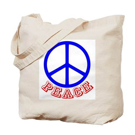 Peace Symbol v9 Tote Bag
