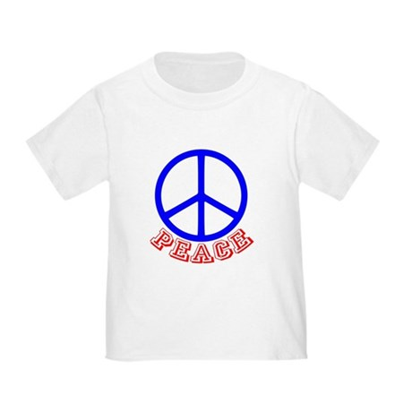 Peace Symbol v9 Toddler T-Shirt