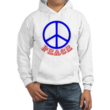 Peace Symbol v9 Hooded Sweatshirt