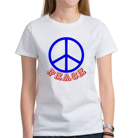 Peace Symbol v9 Women's T-Shirt