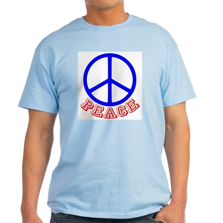 Peace Symbol v9 Light T-Shirt