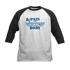 Pain is weakness cross Tee