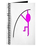 Pink Pole Vaulter Journal