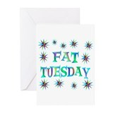 Fat Tuesday Greeting Cards (Pk of 20)