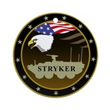Stryker Ornament (Round)