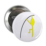 "Yellow Pole Vaulter 2.25"" Button (100 pack)"