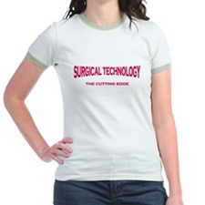 Surgical Technology - pink/red T