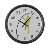 Polevaulter Large Wall Clock