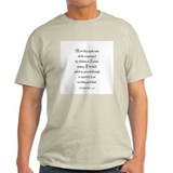 NUMBERS  14:7 Ash Grey T-Shirt