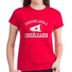 Everyone Loves a Cheerleader Women's Dark T-Shirt