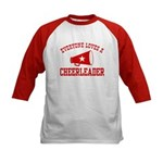 Everyone Loves a Cheerleader Kids Baseball Jersey
