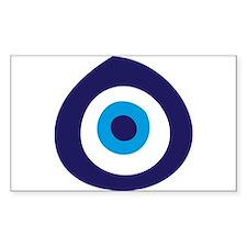 Evil Eye Rectangle Bumper Stickers