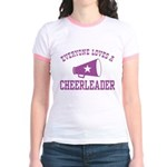 Everyone Loves a Cheerleader Jr. Ringer T-Shirt