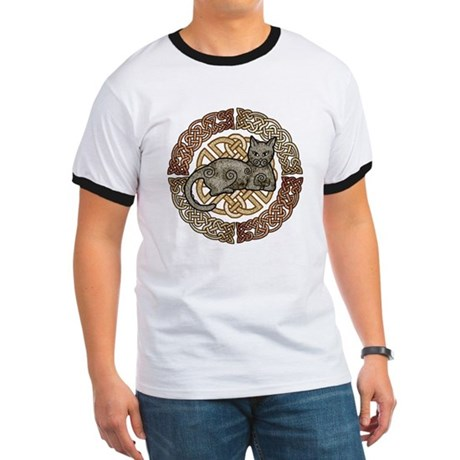 Celtic Cat Ringer T