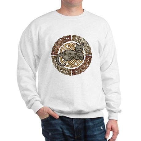 Celtic Cat Sweatshirt