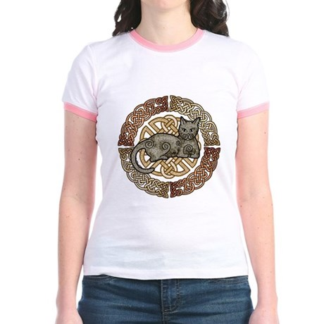 Celtic Cat Jr. Ringer T-Shirt