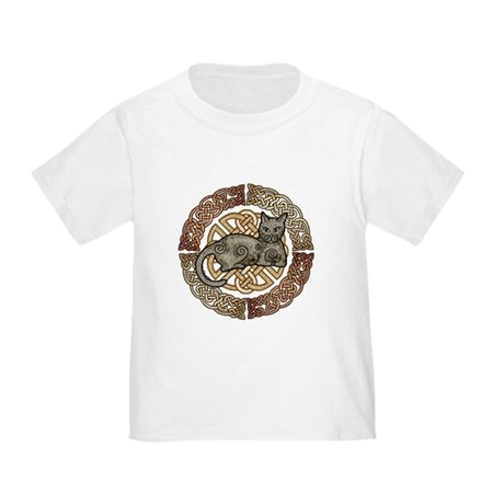 Celtic Cat Toddler T-Shirt
