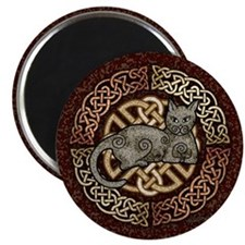 Celtic Cat Magnet