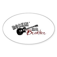 Rockin Big Brother (2009) Oval Decal