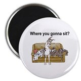 "4on Where You Gonna Sit 2.25"" Magnet (10 pack)"