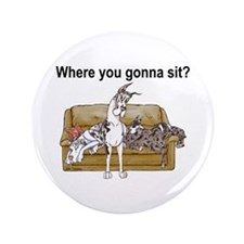"4on Where You Gonna Sit 3.5"" Button (100 pack)"