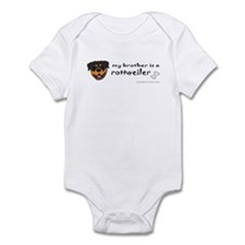 rottweiler gifts Infant Bodysuit